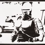 Stencil de Robocop